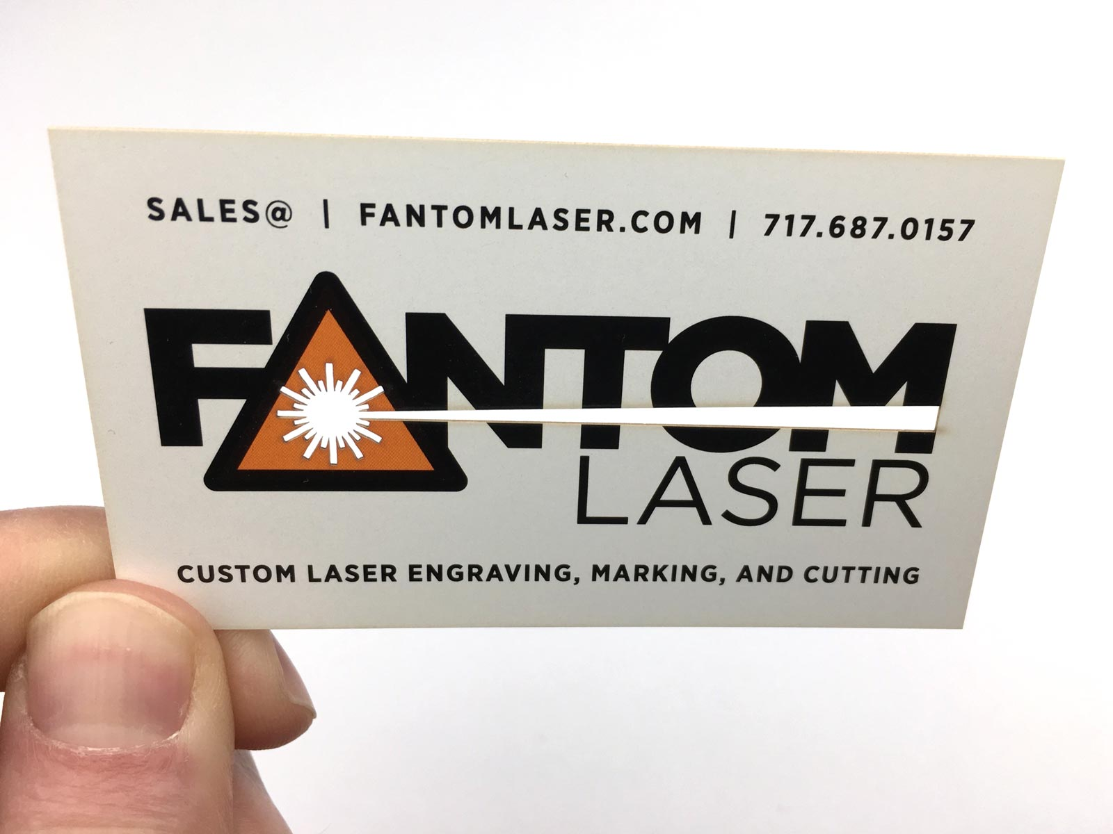 Laser cut business cards fantom laser custom laser cut business cards colourmoves